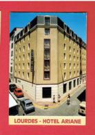 CARTE PUBLICITAIRE HOTEL ARIANE 4 RUE SAINT FELIX A LOURDES - Cartes De Visite