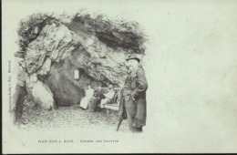 Belgique HAN SUR LESSE Entrée  Des Grottes   Edt Charpentier Richard    ...G - Rochefort