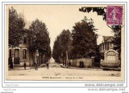28 VOVES - Avenue De La Gare (animée) - Unclassified