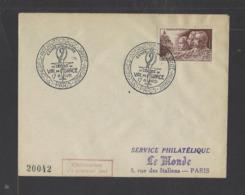 FRANCE.  YT  FDC  N° 898 Oblitération 1er Jour  1951 - FDC