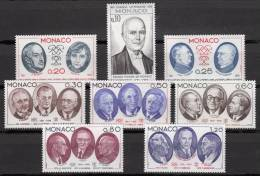 Du N° 1043 Au N° 1050 De Monaco - X X - ( E 183 ) - - Writers