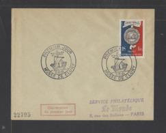 FRANCE.  YT  FDC  N° 906 Oblitération 1er Jour  1951 - FDC