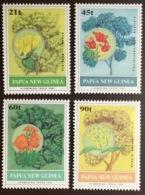 Papua New Guinea 1992 Flowering Trees MNH - Trees