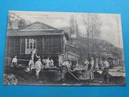 87 ) Bellac - Les Tanneries : Tanneurs Au Travail - EDIT - Arambourou - Bellac