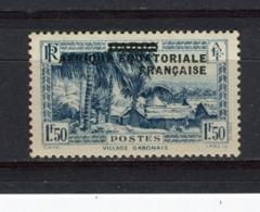 A.E.F. - Y&T N° 25* - MH - Village Gabonais - Unused Stamps