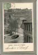 CPA - THIERS (63) - Aspect Des Usines Le Long De La Rivière Durolle Avec L'eau Tumultueuse En 1908 - Thiers