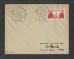 FRANCE.  YT  FDC  N° 911  Oblitération 1er Jour  1951 - FDC