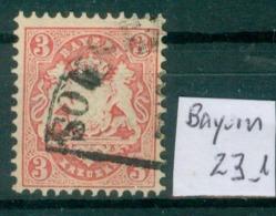 Bayern 23     O / Used  (L904) - Bavière