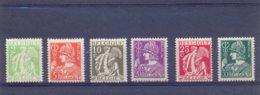 Nrs. 335/340 Postgaaf ** MNH Zeer Mooi - Unused Stamps