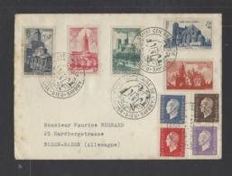 FRANCE.  YT  FDC  Centenaire De L'Abbaye La Chaise Dieu  Oblitération 1er Jour  1952 - FDC
