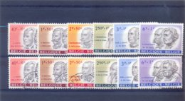 Nrs. 1175/1181 Postgaaf ** MNH Zeer Mooi + Gestempeld (used) - Non Classificati