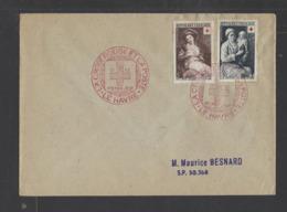 FRANCE.  YT  FDC  N° 966/967  Oblitération 1er Jour  1953 - FDC