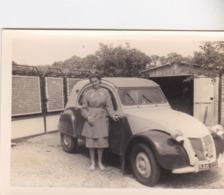 Photographie D'une Citroën 2 CV Bretagne Cote D'Armor 1950  (ref 205) - Automobile