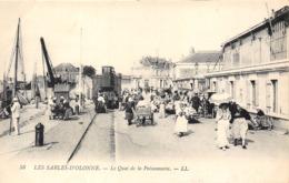 85-LES-SABLES-D'OLONNE- LE QUAI DE LA POISSONNERIE - Sables D'Olonne