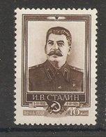 Russia Soviet Union RUSSIE USSR 1954 Stalin MNH - 1923-1991 URSS