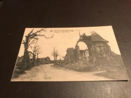 Heuveland - (Reningelst) O.L.V. Ter Clytte - 1914 1918 L'église - The Church Ruines - Heuvelland