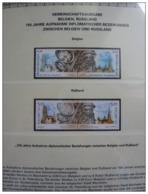 Emissioni Congiunte BELGIO  2003, Clocks 2v [:], Joint Issue Russia  2 Serie Cpl. 4v. Nuovi** - Gemeinschaftsausgaben