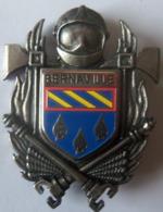 INSIGNE POMPIERS BERNAVILLE - Pompiers
