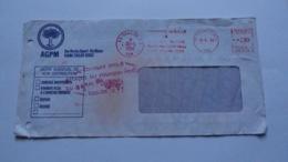 5 Lettres De Toulon Var Trouvé Dans Les Eaux Du Barrage Du Revest, Lors De L'attaque Du Fourgon Postal Du 16,5,1988, - Marcophilie (Lettres)