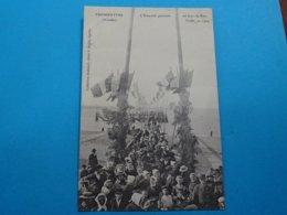 85 ) Fromentine - L'estacade Pavoisée - Un Jour De Fete Locale En 1904 - EDIT - Bertin - France