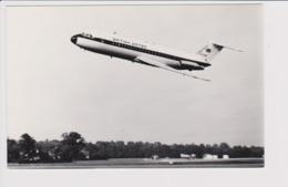 Vintage Rppc British United Airways B.A.C. One-eleven 1-11 Aircraft - 1946-....: Modern Era