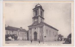 49 SOULAINES Sur AUBANCE L'église Et La Place - Francia