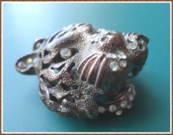 Ancien Pendentif TETE DE TIGRE - Juwelen & Horloges