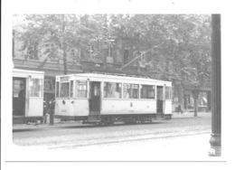 Bruxelles - Rouppeplaats - Tram. - Chemins De Fer