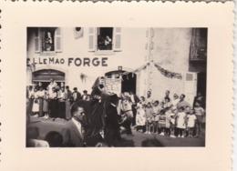 Photographie  Finistere 29 Concarneau  Cinquantenaire Fêtes Des Filets Bleu 21 Août 1955 (ref 208) - Orte