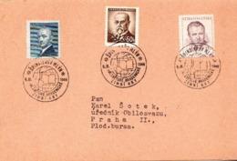 Czechoslovakia Card With Spindlerov Mlyn Cancel - Czechoslovakia