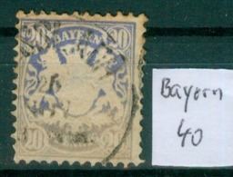 Bayern 40     O / Used  (L924) - Bavaria