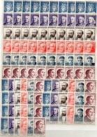 SERIES CELEBRITES FRANCAISES 1954 X 17  NEUVES SANS GOMME COTE ENORME PRIX DEPART 50 EUROS - France