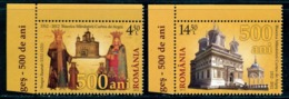 Romania Royalty,Royal Coronation Church,Curtea De Arges,Basarab,6654,MNH - Kirchen U. Kathedralen