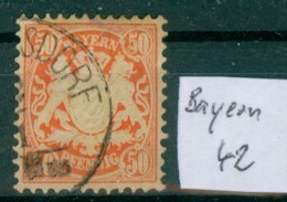 Bayern 42     O / Used  (L924) - Bavière
