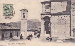 SUISSE,SWITZERLAND,SWISS,HELVETIA,SCHWEIZ,SVIZZERA,TESSIN,MENDRISIO,1906,RARE - TI Tessin