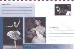 CUBA - Enveloppe PAP Prêt à Poster - Alicia Alonso - National Balet Of Cuba - Other