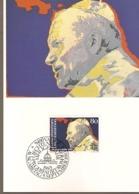 Lichtenstein & Maxi Card, Pope John Paul II, Vaduz 1983 (6688) - Christianity