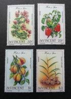 St. Vincent Herbs And Spices 1985 Fruits Food Vegetables (stamp) MNH - St.Vincent Y Las Granadinas