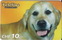 SWITZERLAND - TELELINE - DOG 1 - Zwitserland