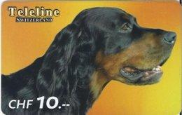 SWITZERLAND - TELELINE - DOG 2 - Zwitserland