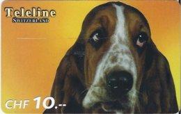 SWITZERLAND - TELELINE - DOG 3 - Zwitserland
