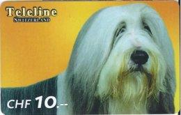 SWITZERLAND - TELELINE - DOG 4 - Zwitserland