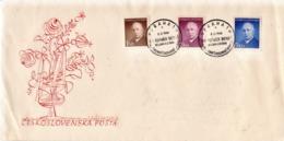 Czechoslovakia Addressed FDC With Benes - Czechoslovakia