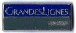 VOYAGEURS - V233 - GRANDES LIGNES - Verso : METARGENT - TGV