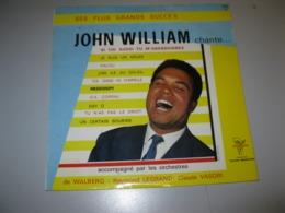 """VINYLE JOHN WILLIAM """"SES PLUS GRANDS SUCCES"""" 33 T / 25 Cm TRIANON / PATHE MARCONI (Ref : 5323 Trs) - Spezialformate"""