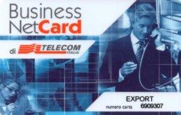 *ITALIA:TELECOM ITALIA - BUSINESS NET CARD* -  Scheda Usata - Italien