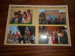 Calonne Sur La Lys (pas-de-calais) Cérémonie De Jumelage Avec Northiam , 15 Juin 1996 - Frankrijk