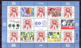 Serbia 2019 JOY OF EUROPE  Mini Sheet MNH - Serbien