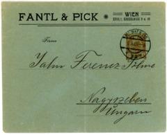 """Privat Ganzsache Wertstempel """"Kaiser Franz Joseph"""" 1908 Nach Nagyrzeben Ungarn - Entiers Postaux"""