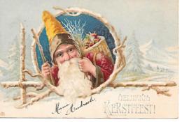 Santa Claus, Weihnachtsmann, Le Père Noël, Babbo Natale, Presents / Embossed, Gaufré /  From 1908 - Santa Claus